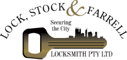 Lock Stock & Farrell Locksmith Perth Logo