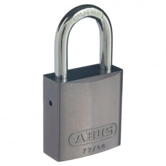 abus padlock 72 40 titanium western power. Black Bedroom Furniture Sets. Home Design Ideas