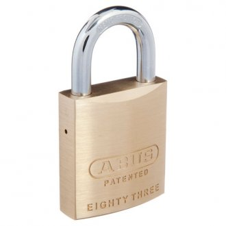 Abus Padlock 83/45 WAS (Western Power Master Keyed)