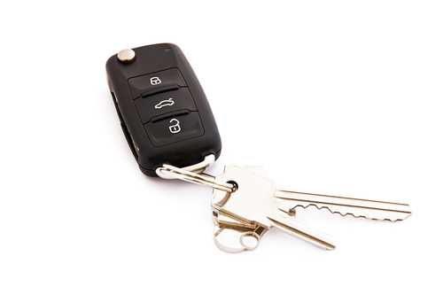 New Car Key Transponder