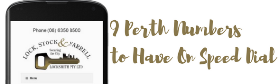 9 Important Numbers Every Perth Mum Needs to Have On Speed Dial