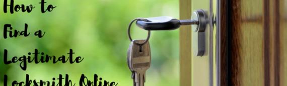 How to Find a Legitimate Locksmith Online
