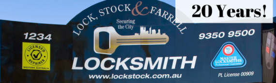 Lock, Stock & Farrell Celebrate 20-Year Milestone!