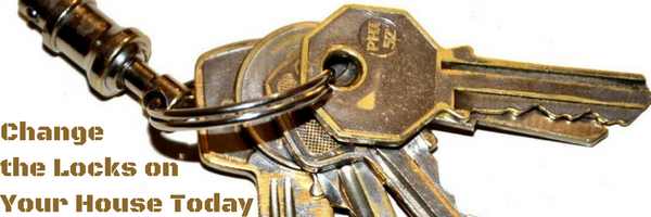 Change the Locks on Your House Today