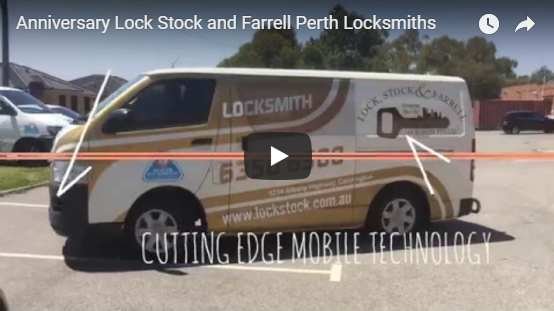 Lock Stock and Farrell Locksmith Anniversary Video