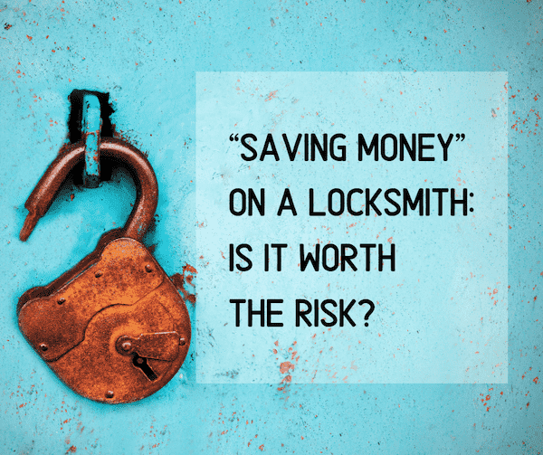 saving money on a locksmith in perth - is it worth the risk?