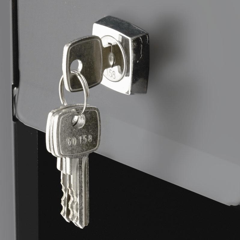 Mailbox key & lock
